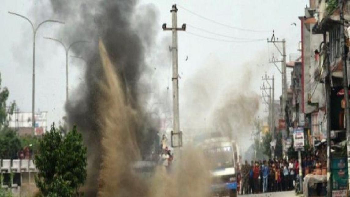 काठमाडौं ढुंगेधारामा बम विस्फोट