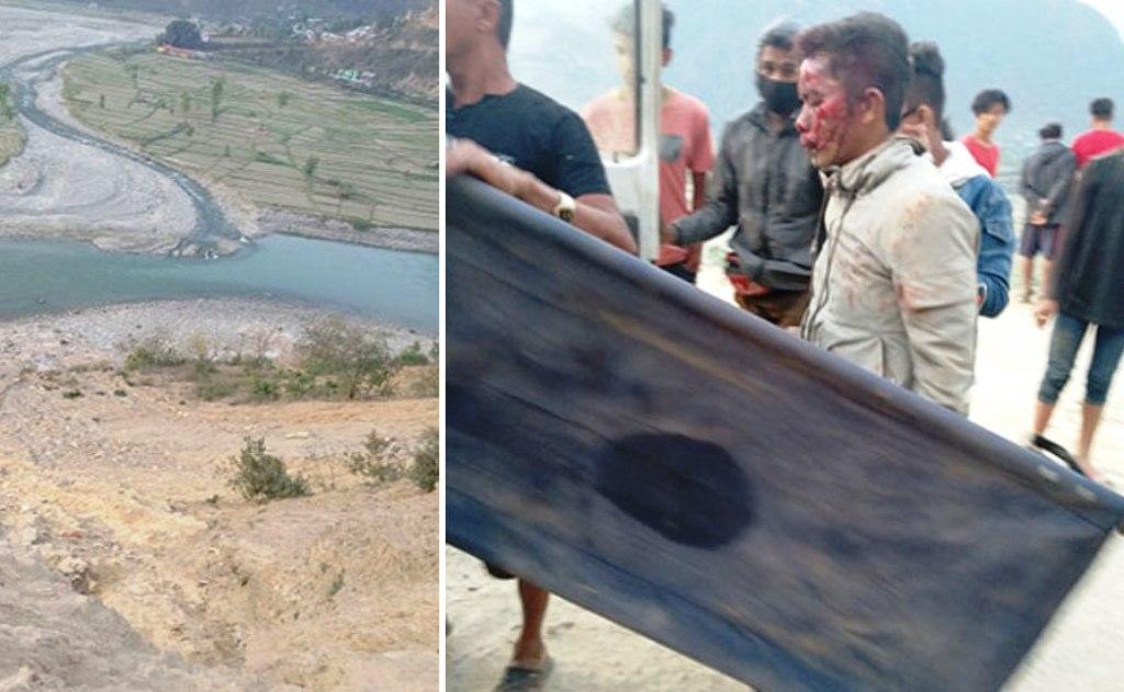 रामेछापको राकाथुममा पिकअप बोलेरो दुर्घटना : दुईको मृत्यु, २८ घाइते